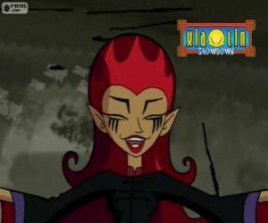 Puzle WuHa, a bruxa