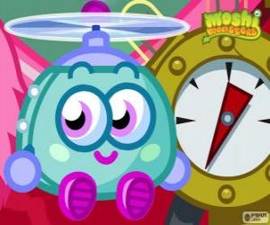Puzle Wurley. Moshi Monsters