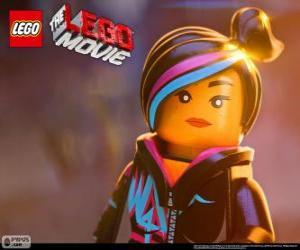 Puzle Wyldstyle, um espírito livre do filme Lego