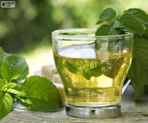 Puzle Xícara de chá verde