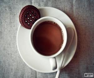 Puzle Xícara de chocolate quente