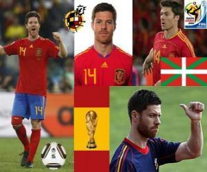 Puzle Xabi Alonso (Pulmão) meia da seleção espanhola
