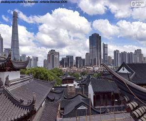 Puzle Xangai, China