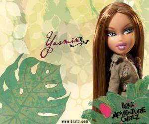 Puzle Yasmin - Pretty Princess - é uma bela espanhola. Seu nome do meio é Lea, é a calma e paciência.