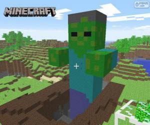 Puzle Zombie de Minecraft