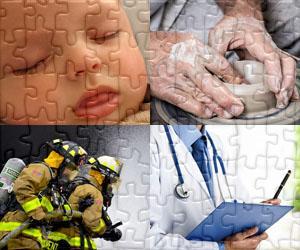 Puzzles de Pessoas e Oficios