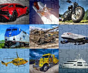 Puzzles de Transportes
