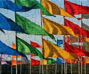 Puzzles de Bandeiras, Escudos e Logos