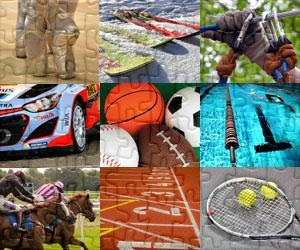 Puzzles de Esporto e Aventura