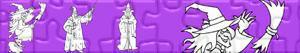 Puzzles de Bruxas e Magos