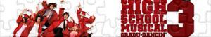 Puzzles de High School Musical 3: Ano da Formatura ou Último Ano