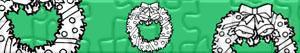 Puzzles de Coroas e grinaldas do Natal