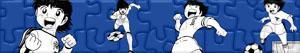 Puzzles de Captain Tsubasa - Oliver e Benji