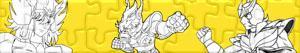 Puzzles de Saint Seiya - Os Cavaleiros do Zodíaco