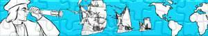 Puzzles de Cristóvão Colombo - Descobrimento da América