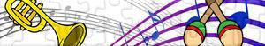 Puzzles de Instrumentos musicais