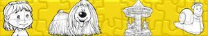 Puzzles de Franjinhas e o Carrossel Mágico