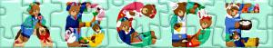 Puzzles de Letras com ursos