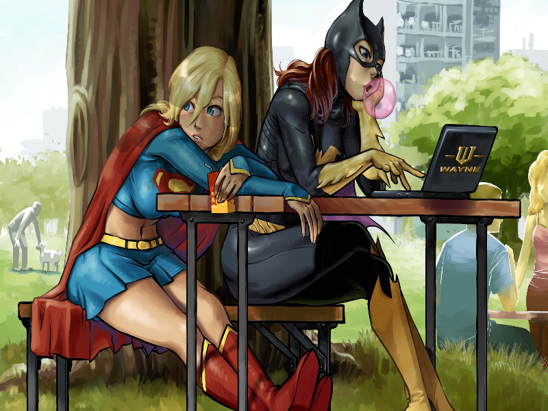 DC Girls puzzle