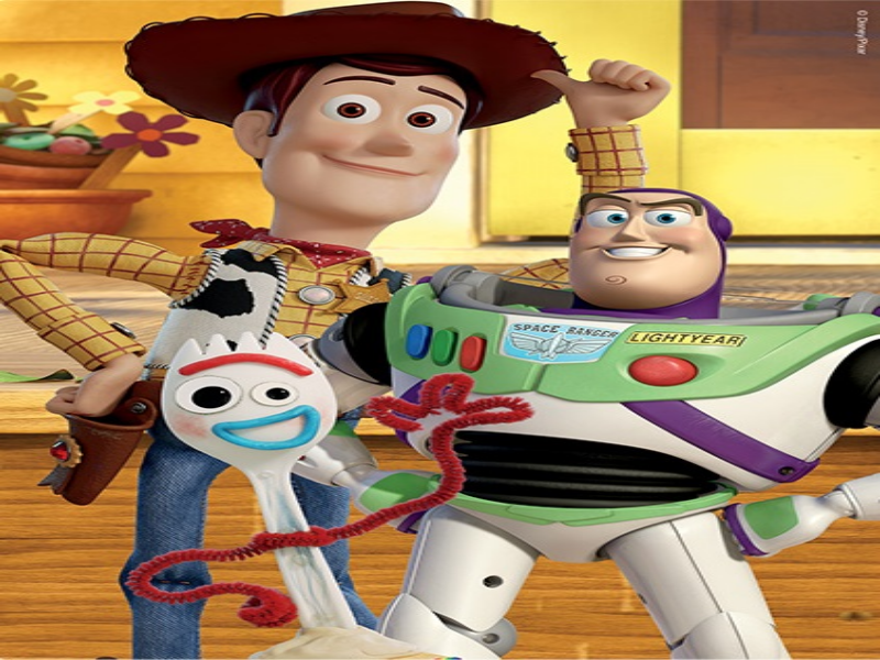Woody, Forky e Buzz puzzle