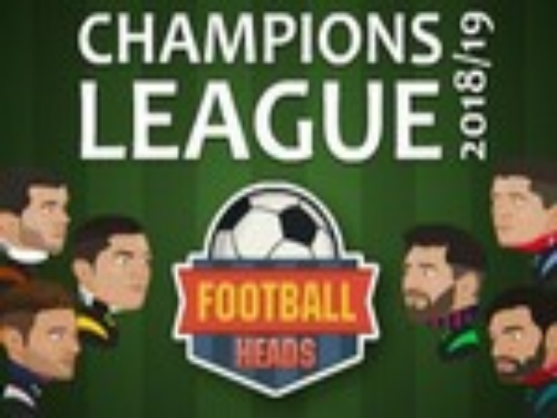 Puzzle da capa do jogo football heads champions league 2018-2019 puzzle