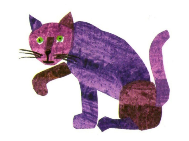 purple cat puzzle