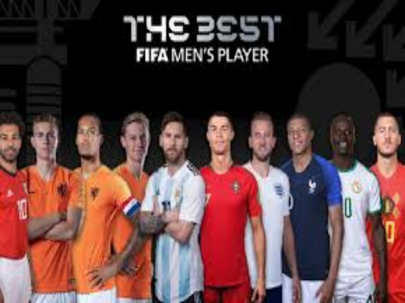 Puzzle dos candidatos do fifa the best puzzle