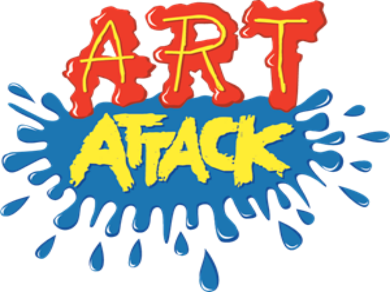 Puzzle da logo do art attack puzzle