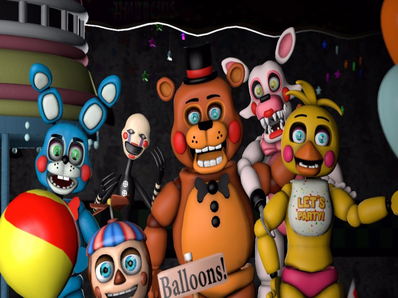Five nights at Freddies puzzle puzzle