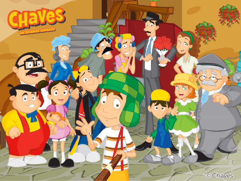 Chaves Animado puzzle
